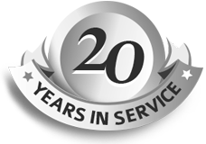 20 years in trucking business
